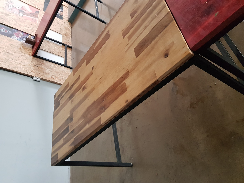 제작용 테이블 원목.철재제작