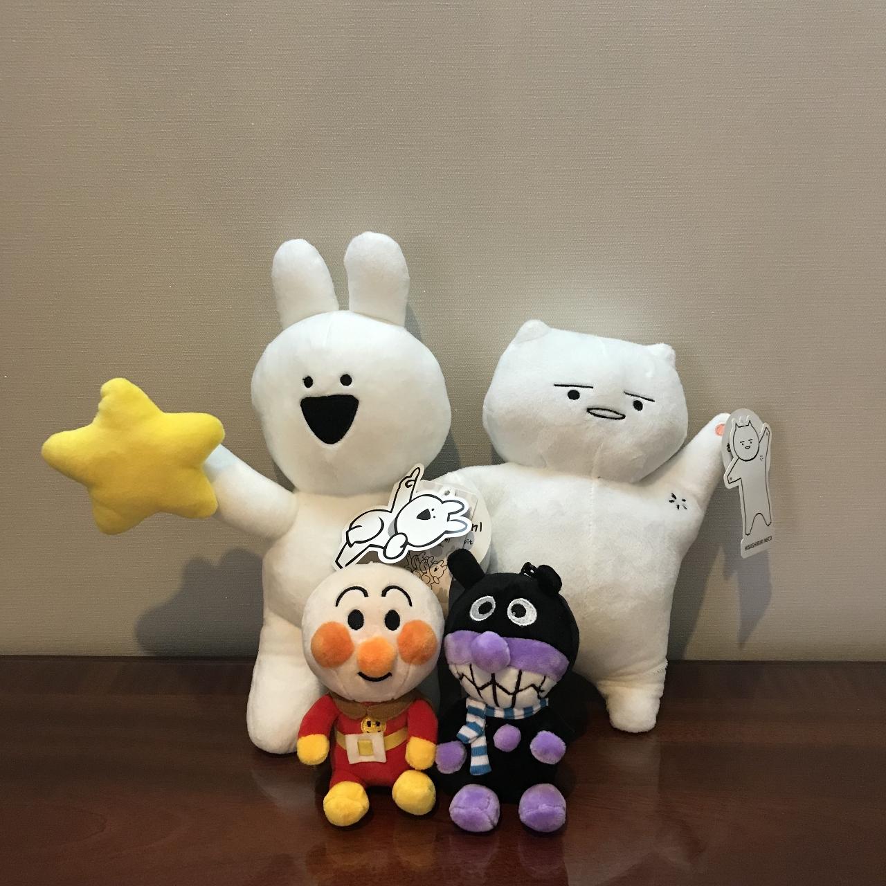 이모티콘 캐릭터,호빵맨,세균맨(미사용)