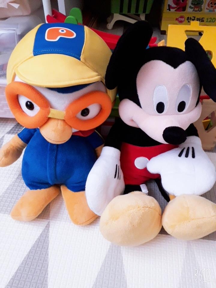 뽀로로&미키마우스인형