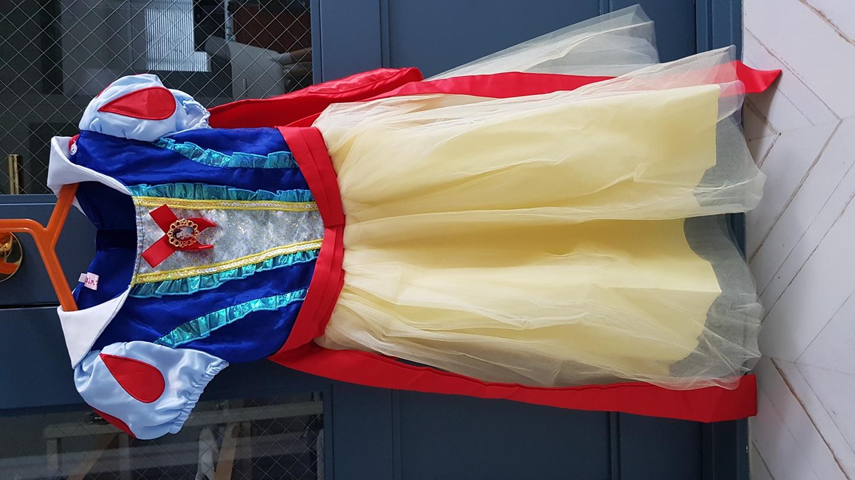 백설공주 드레스 코스튬 120사이즈