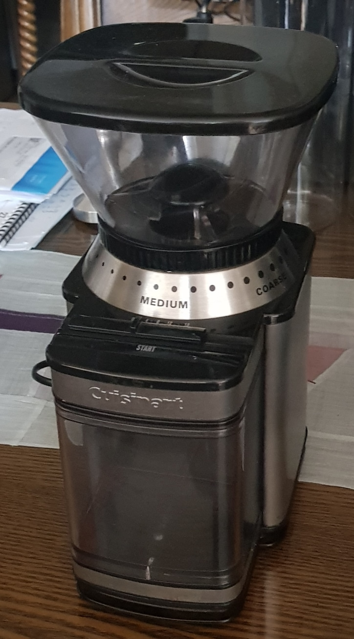 쿠진아트 원두 커피 그라인더 2만