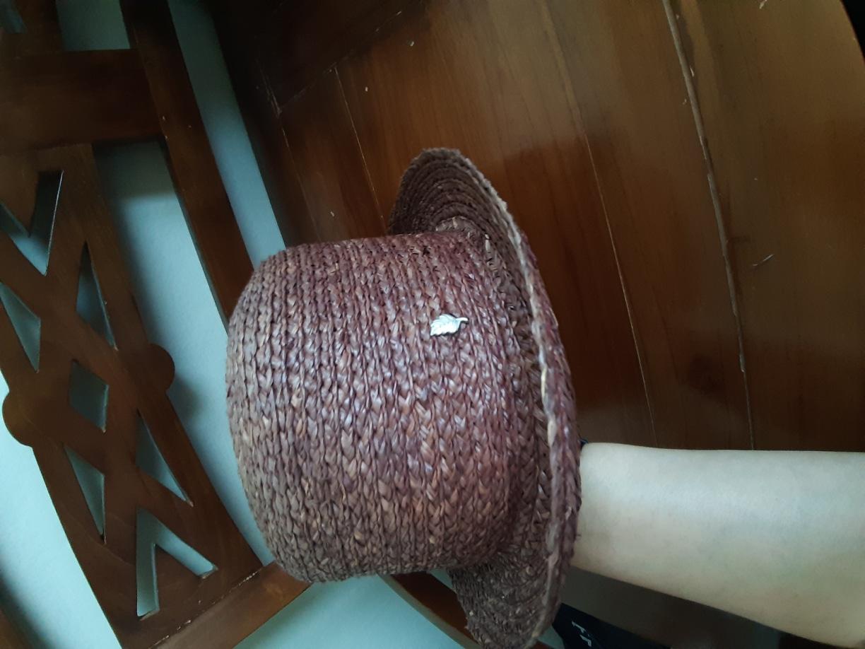 METROCITY메트로시티 라피아햇100%모자