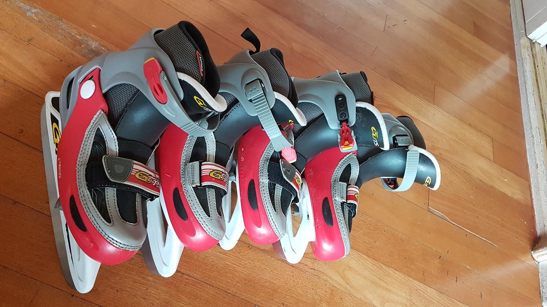 스케이트 신발 가져가세요220,220