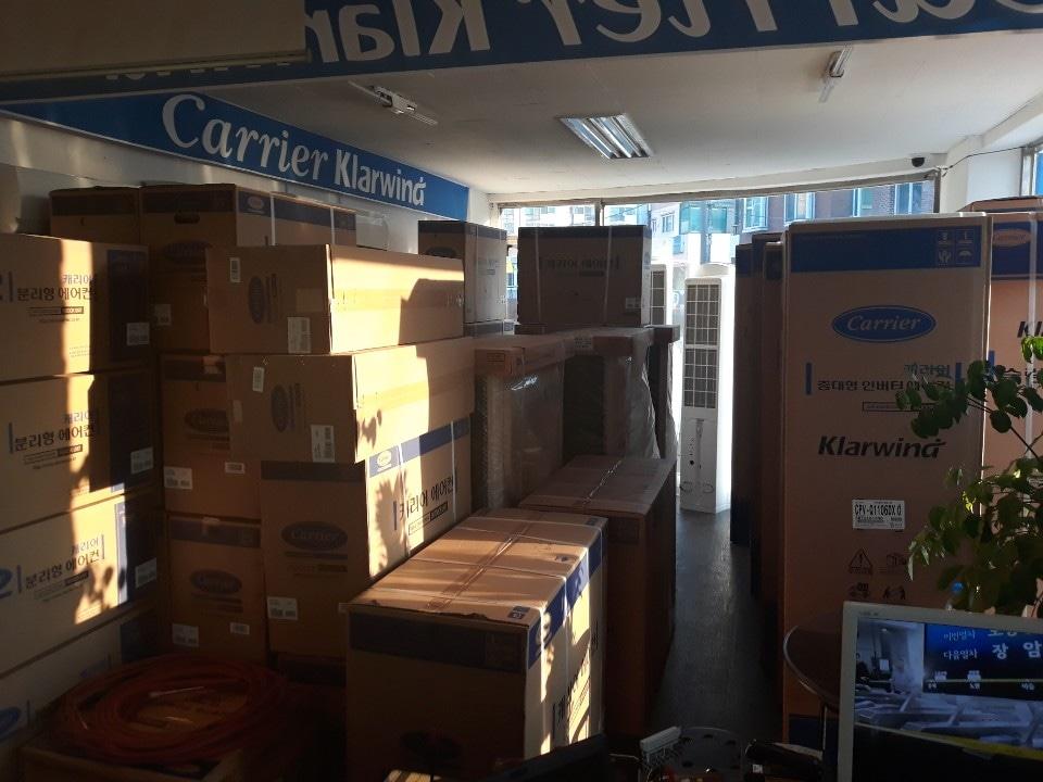 벽걸이에어컨 스탠드에어컨 에어컨 자제 판매