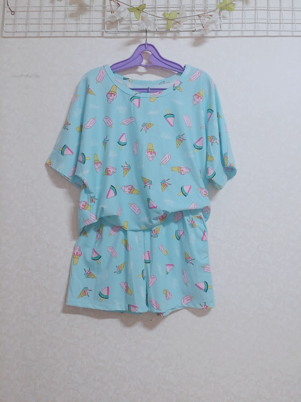 새상품) 귀여운 여름 홈웨어 세트 잠옷