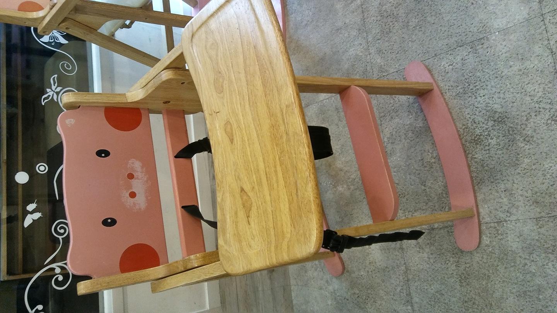 유아 식탁의자