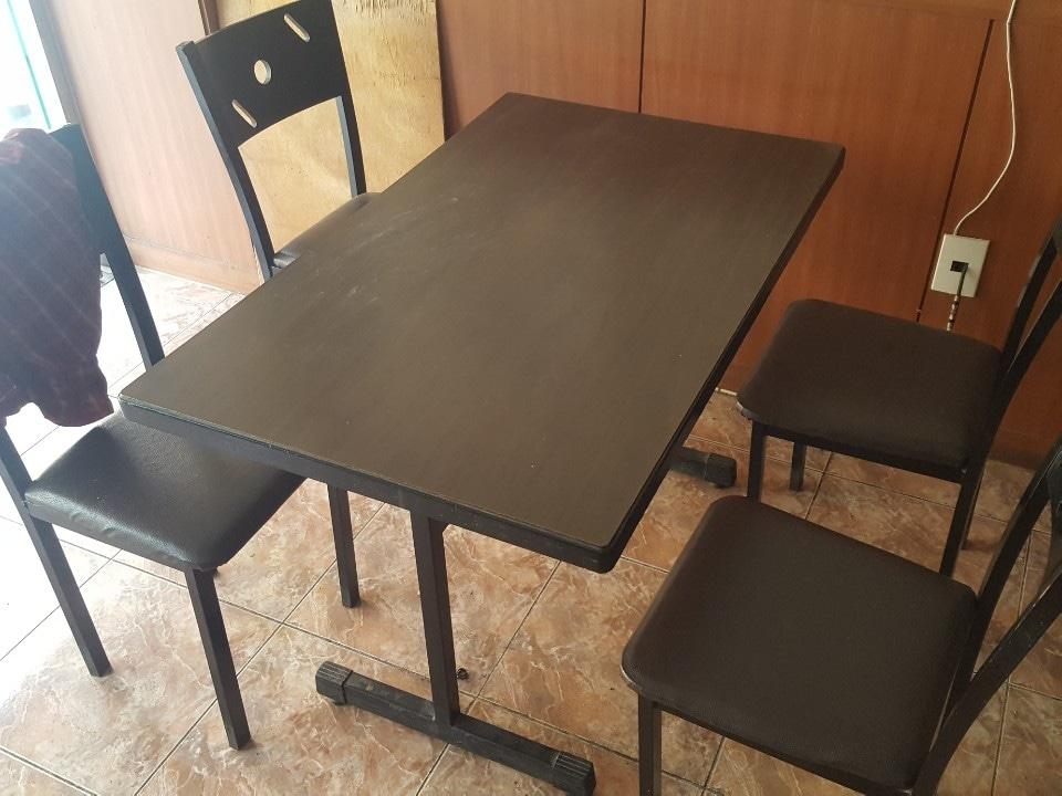 식탁 의자 테이블