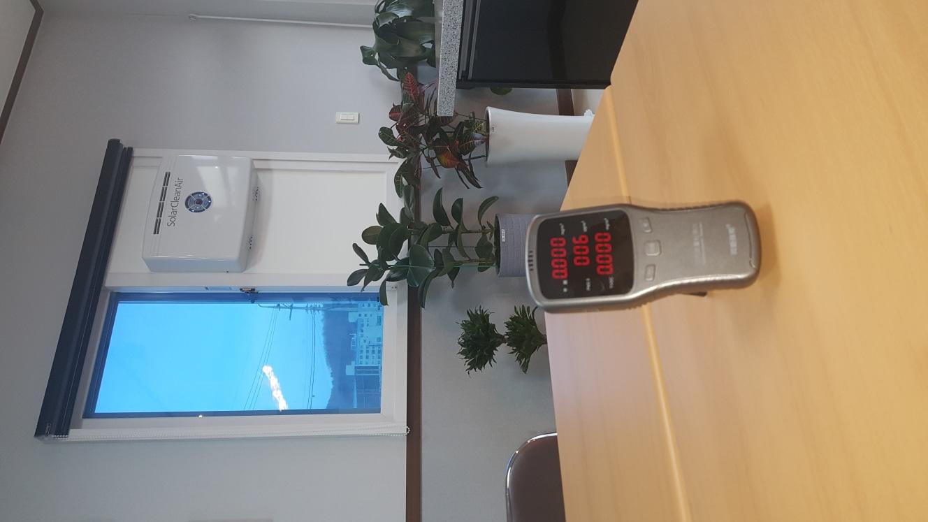 창문설치용 공기청정기(솔라크린에어)
