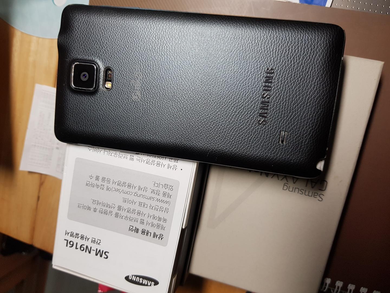 삼성겔노트4S LTE.