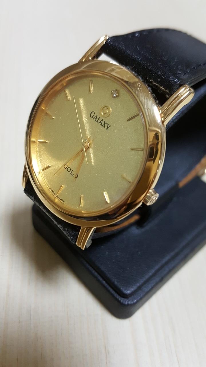 [명품]GALAXY 18K GOLD Crown Bezel & Sappire Glass