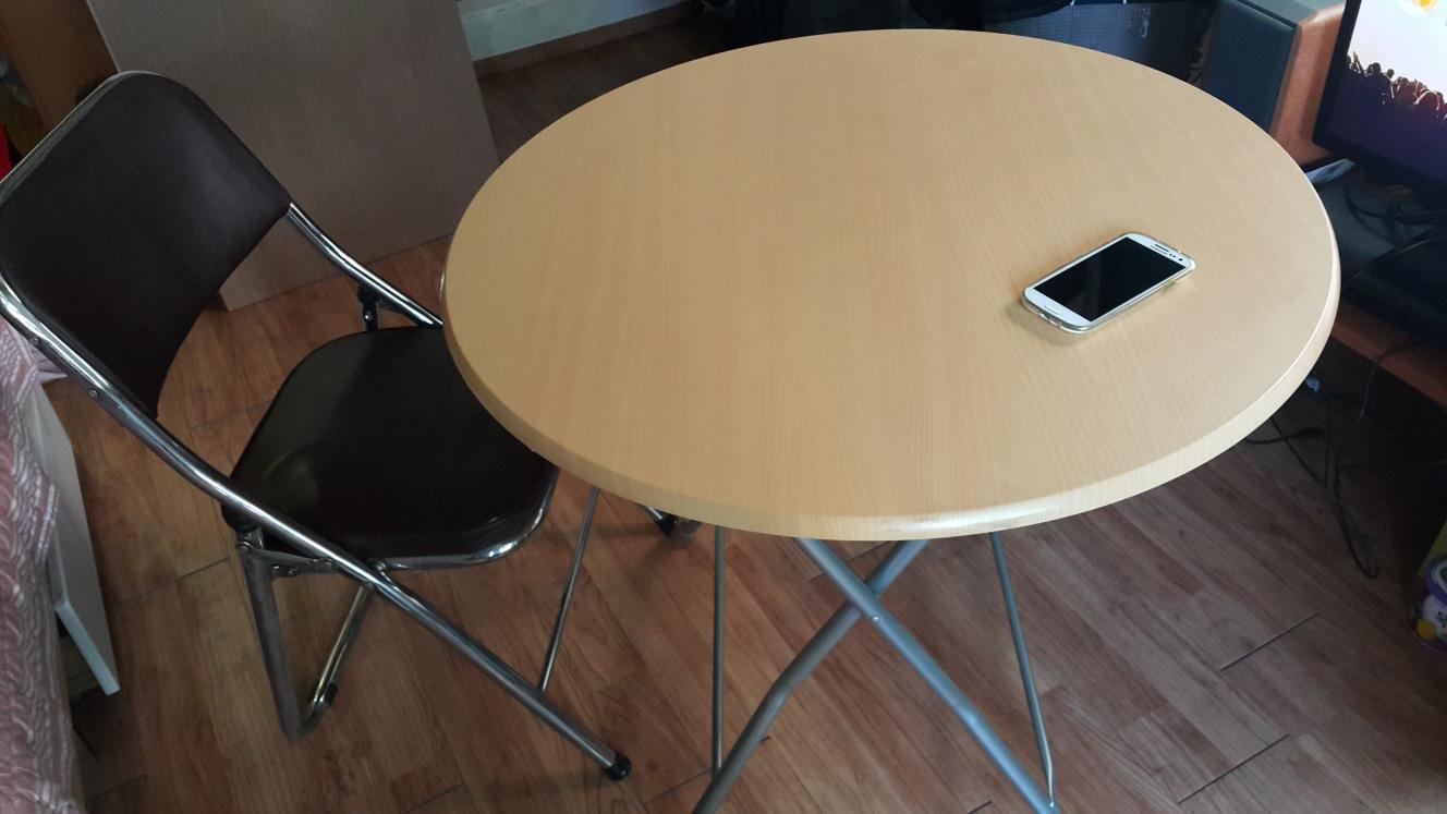 접이식 테이블과 의자