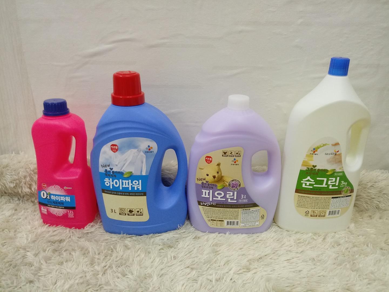 CJ 액체 세제 (세제 표백제 퐁퐁 유연제)