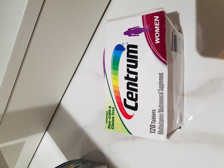 센트롬 여성용 (120정)