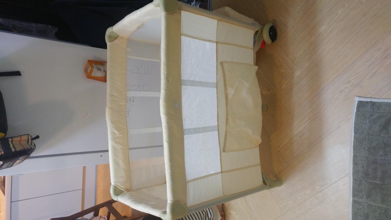 접이식 아기 침대