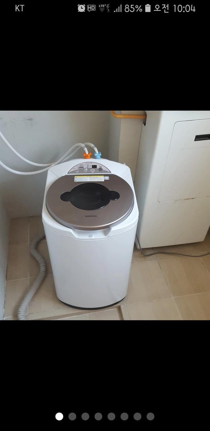 오늘오실분 아기사랑세탁기 6만원 급처분