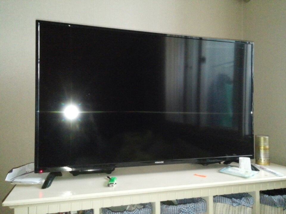 43인치 TV