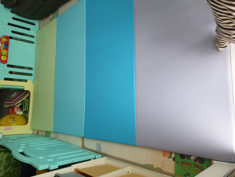 2번사용 알집매트 칼라폴더 284×160×4 특대사이즈 2개있음 놀이방매트 유아매트