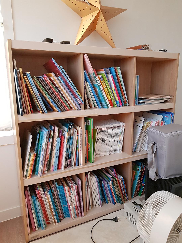 책장과 책 모두.