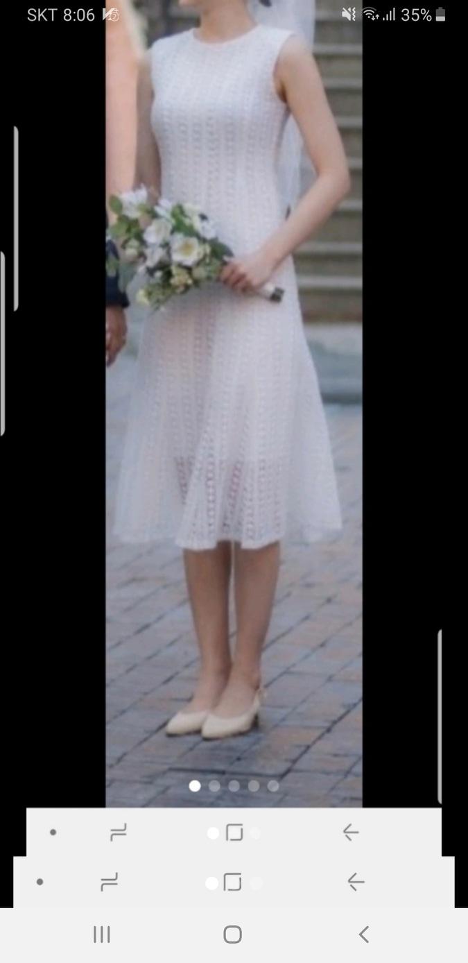 민소매 드레스