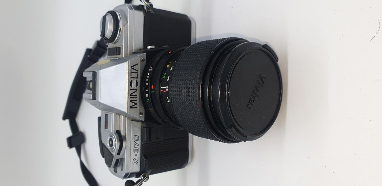 필름카메라 Minolta x 370 with vivitar 35 70mm