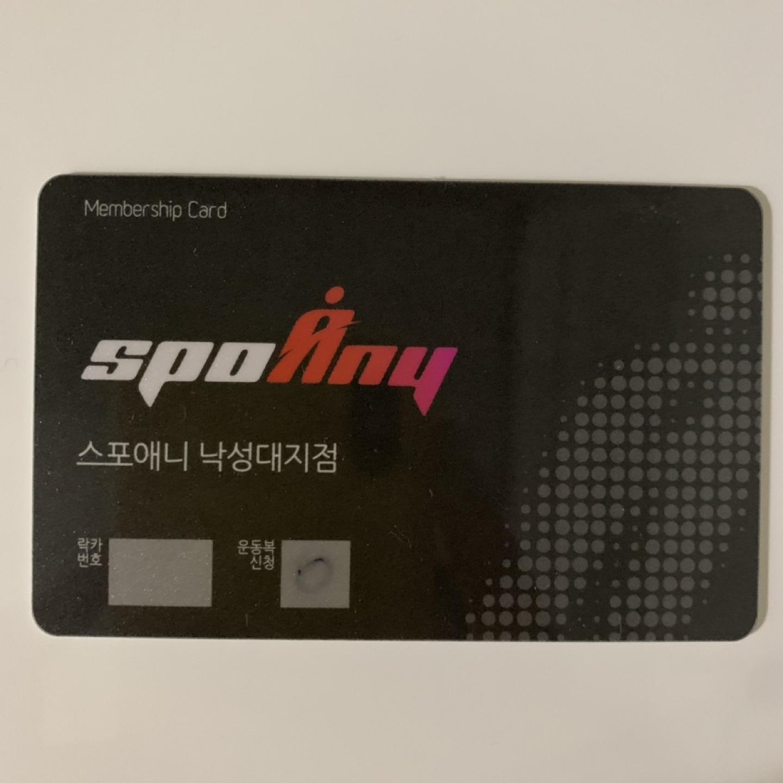스포애니 헬스 신규회원 2개월권