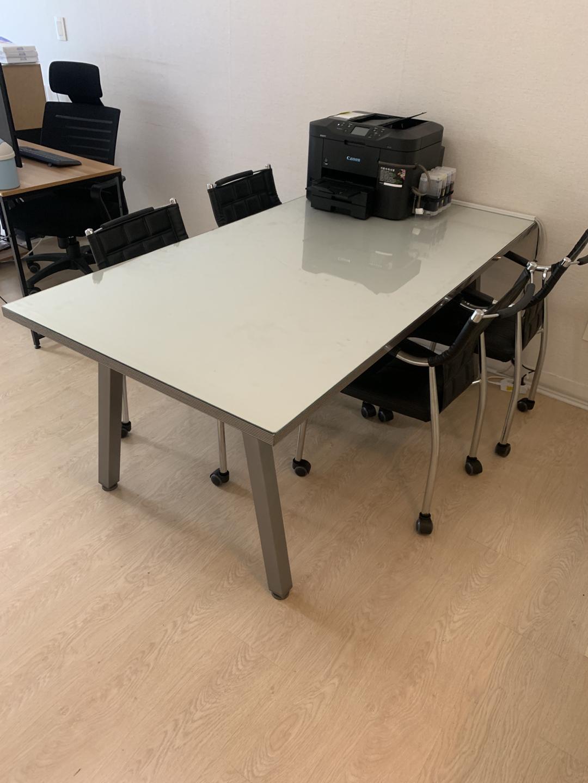 회의테이블 (의자)