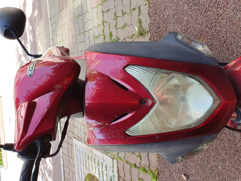 오토바이 125cc 십년된