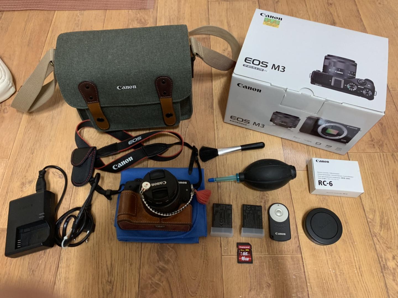 캐논 Eos m3 14-45 카메라 판매합니다