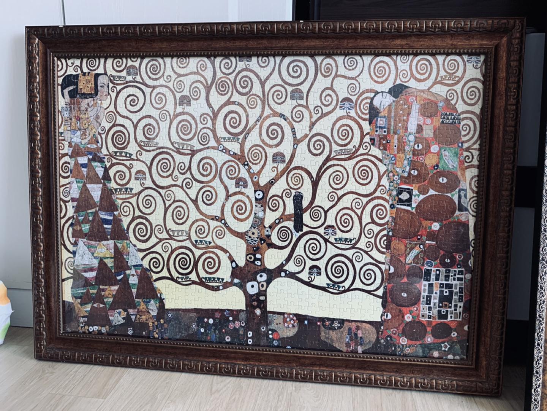 1000조각 퍼즐용 액자