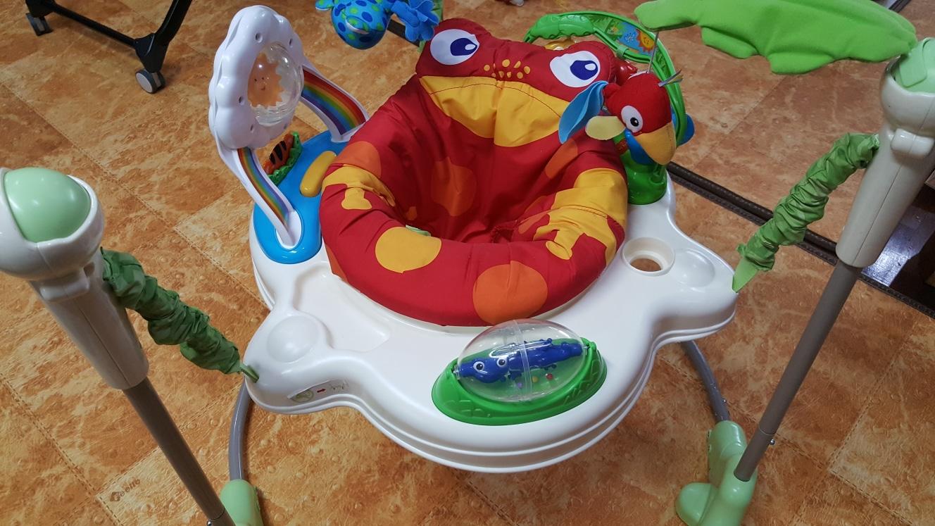 파셔프라이스 개구리 점퍼루