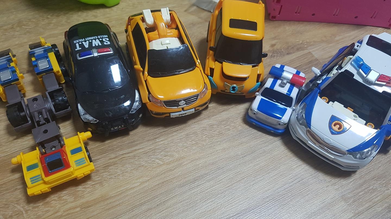 남자아이 자동차 변신 로봇 이랑 타요 자동차 팝니다