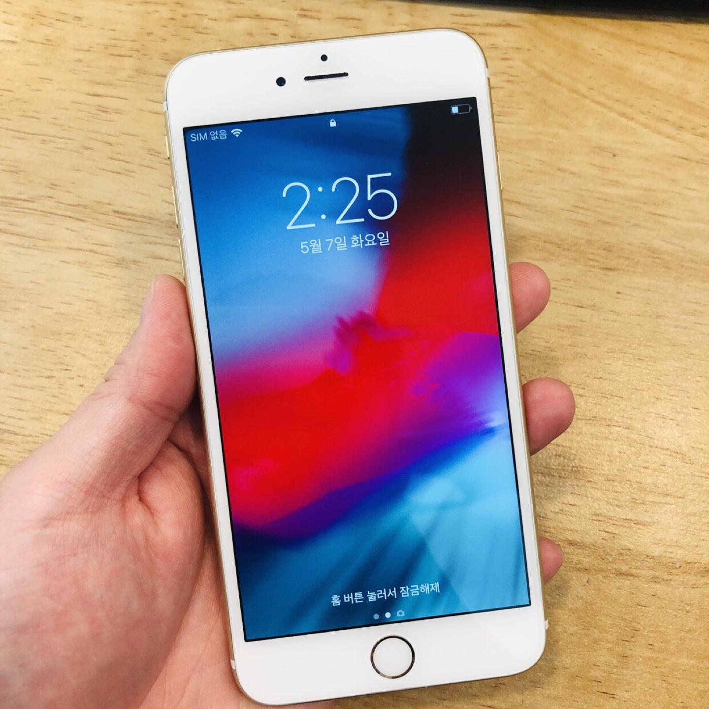 아이폰6s+ 64기가 골드 팝니다.
