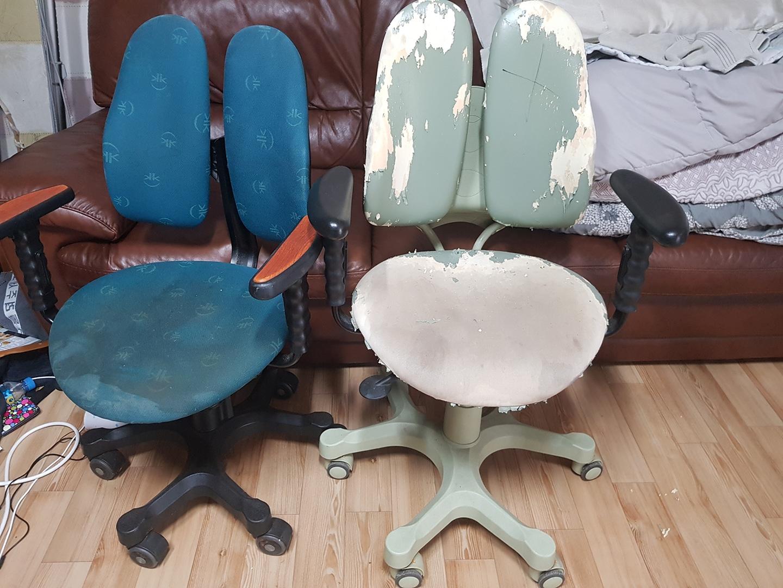 듀오백 아동용 의자