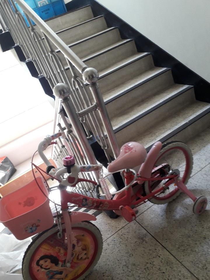 디즈니프린세스자전거