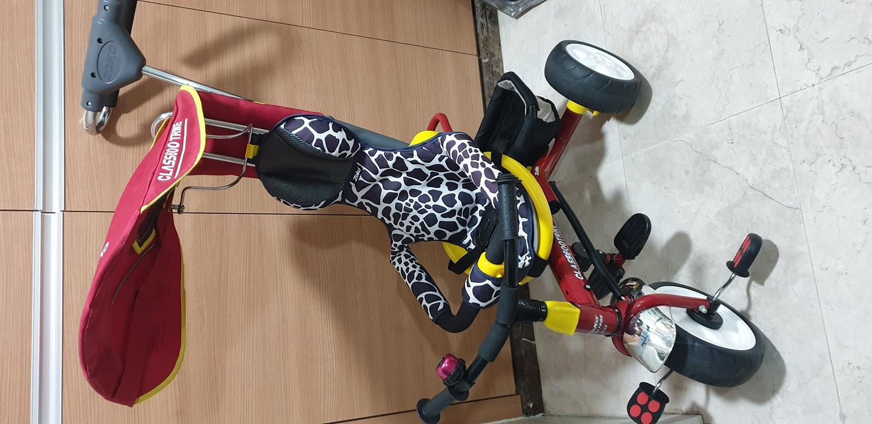 조코자전거 유모차형 세발자전거