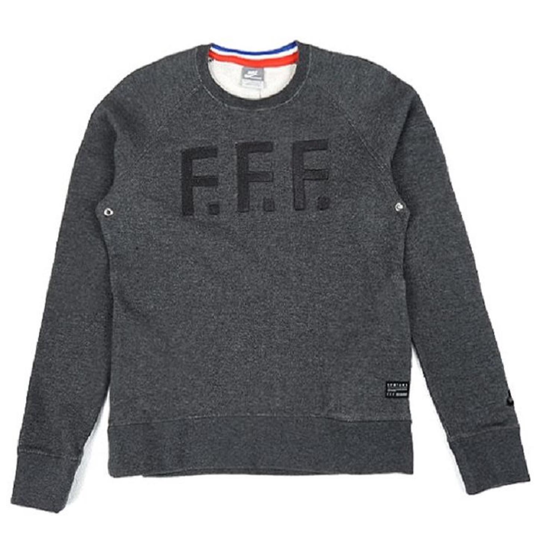 (XL) 나이키 F.F.F 맨투맨 그레이