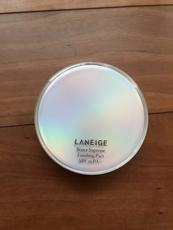 마지막 가격인하 라네즈 워터 수프림 피니싱 팩트 썬크림기능