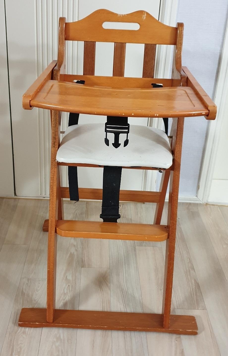 유아 아기 원목 식탁 의자