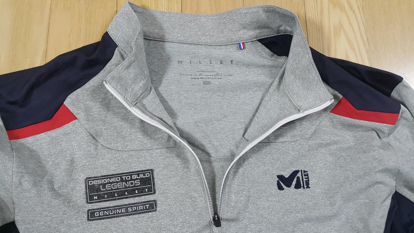 밀레 등산 셔츠 100 새제품 25천원
