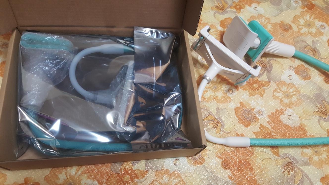 위젤(WMV-TS250) 태블릿/스마트폰 자바라 거치대 판매합니다.(새제품)