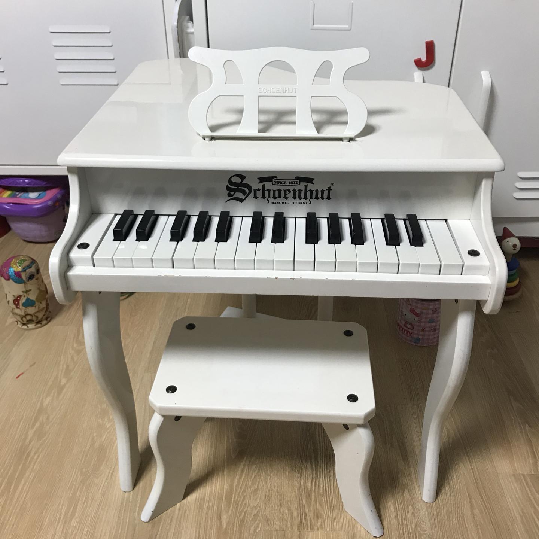 숀헛피아노 유아피아노 화이트피아노