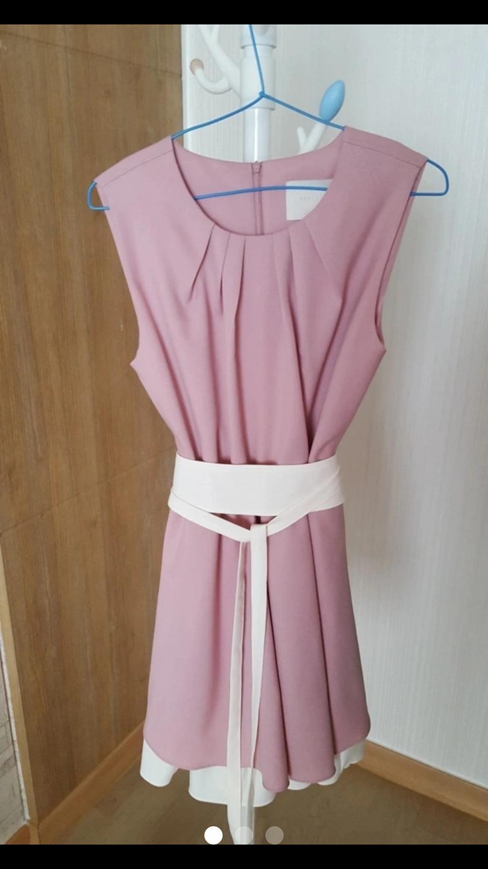 새상품)핑크 드레스^^