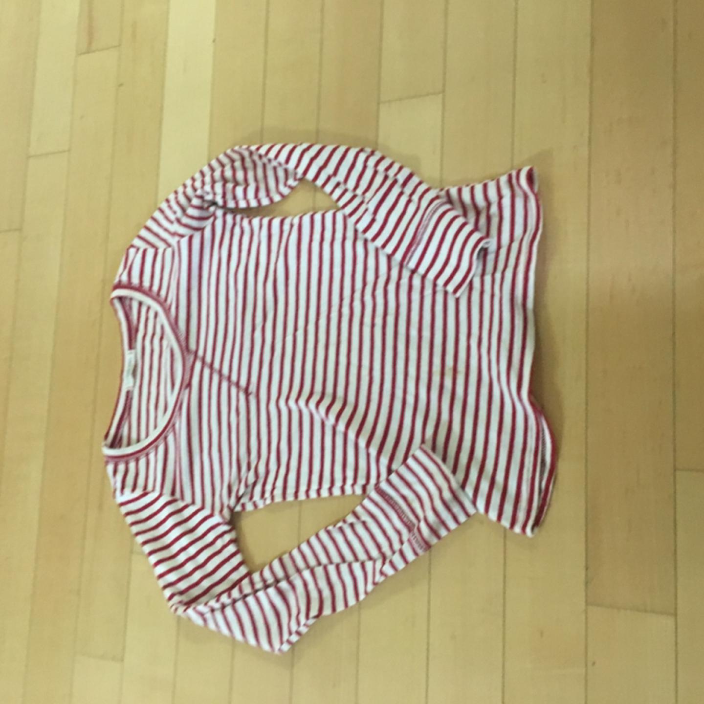 레드 스트라이프 티셔츠 55