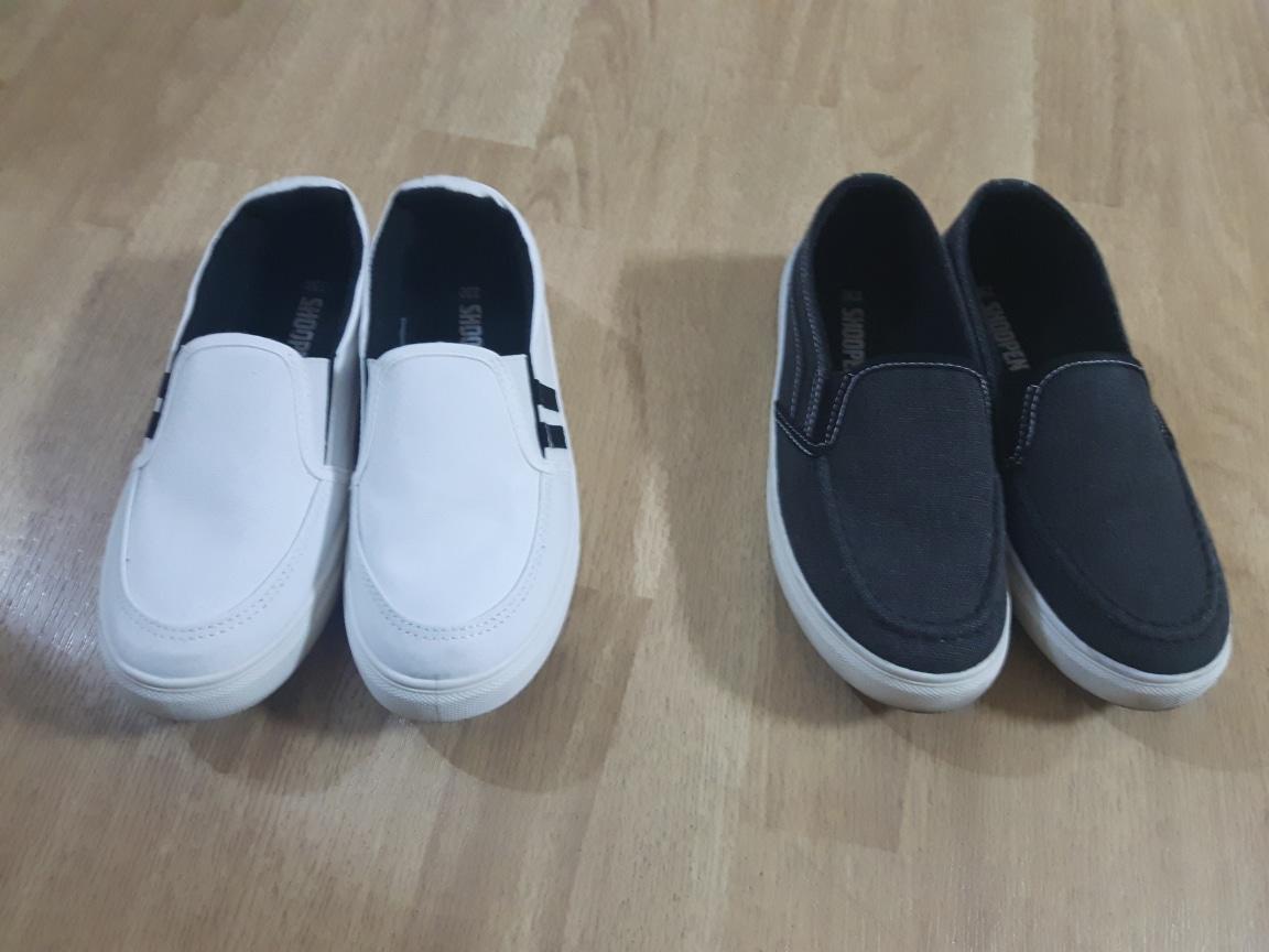 여성 230 사이즈 신발 2켤레