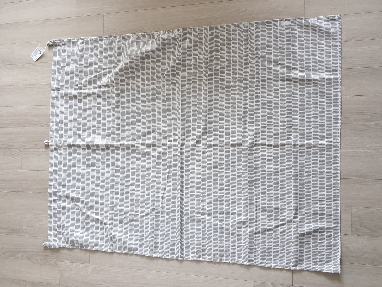 새상품 버터 패널 커튼 ㅡ 가림커튼