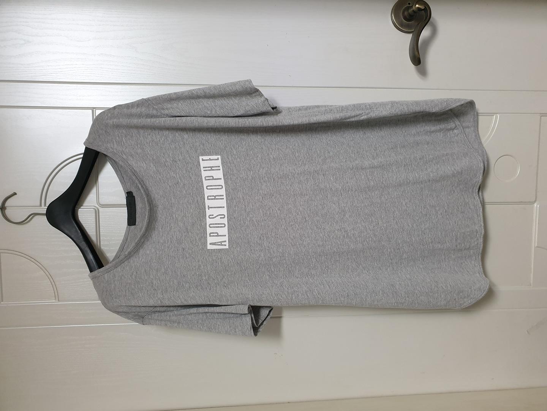 그레이 티셔츠