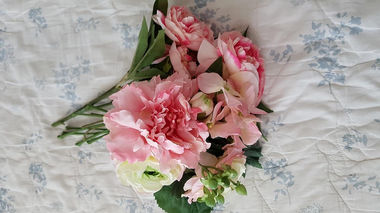 모던하우스에서산 꽃 조화