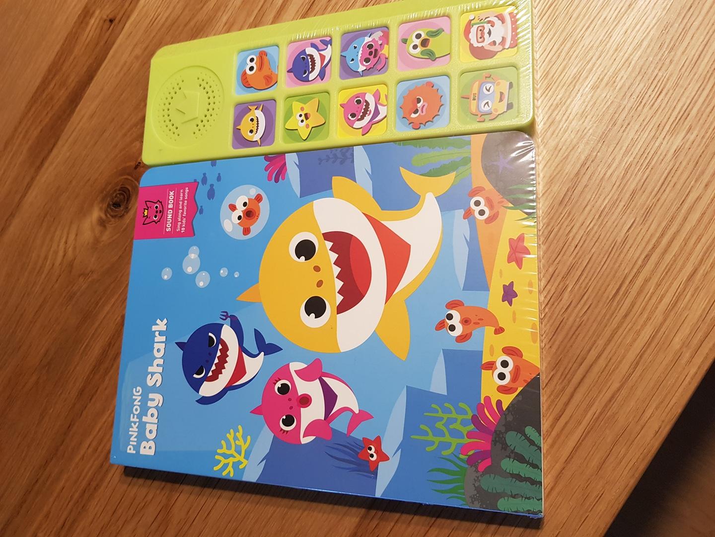 핑크퐁 사운드북 영어동요ㅡ새상품 직구