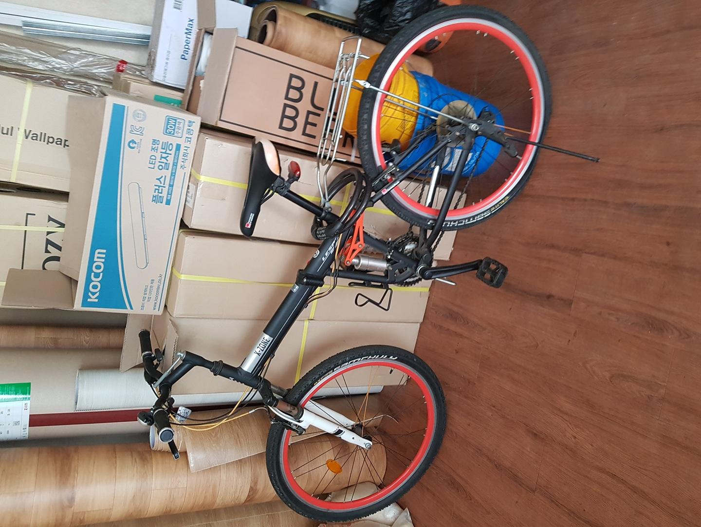 삼천리 레스포 접이식 자전거 팝니다