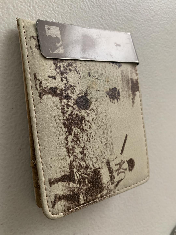 MLB 남성 머니클립 지갑